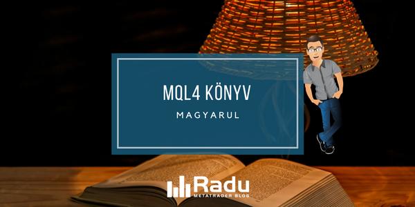 MQL4 könyv magyarul