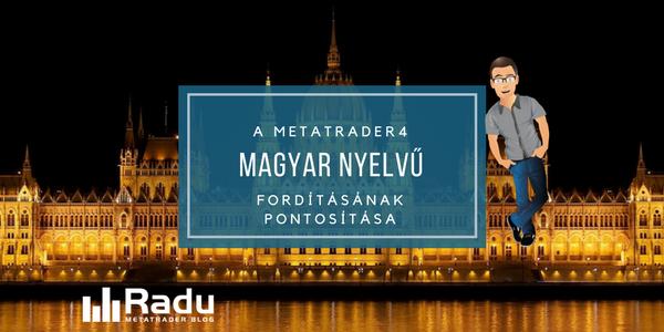 Magyar nyelv pontosítása