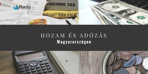 Hozam és adózás