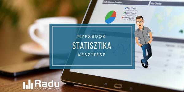 Myfxbook statisztika készítése