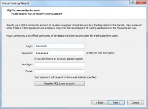 MQL5.com hozzáférés