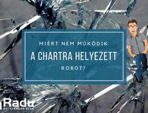 Egy bizonyos chartra helyezett robot nem működik. Mitől van ez?