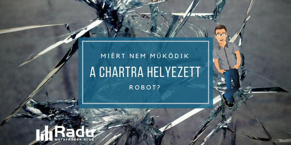 Miért nem működik a chartra helyezett robot?