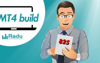 Új MetaTrader4 build: 825