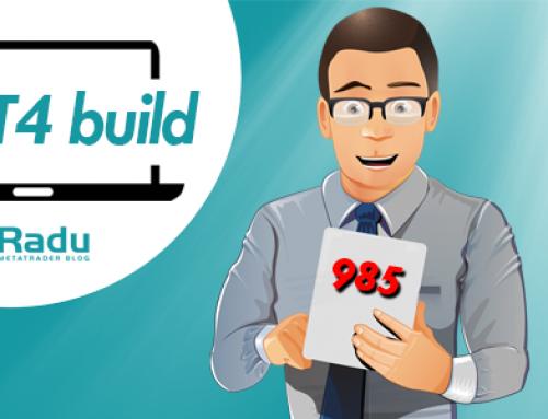 Új MT4 build bejelentve – 985