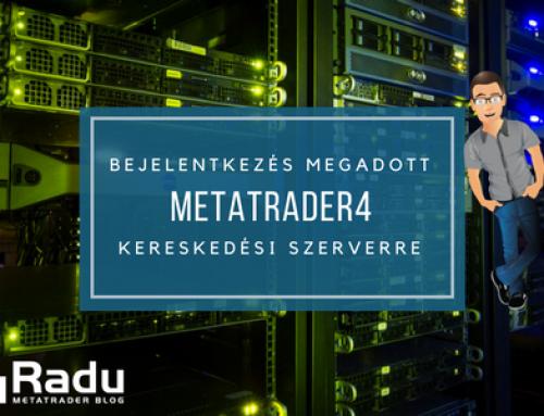 Hogyan tudok bejelentkezni a brókercég egy konkrét szerverére, ha az nincs benne a Metatrader4 szerverlistájában?