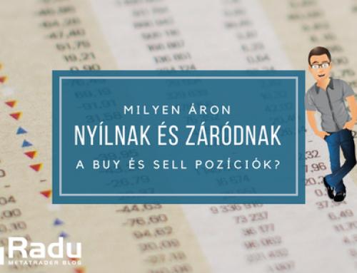 Milyen árakon záródnak a buy és a sell pozíciók?