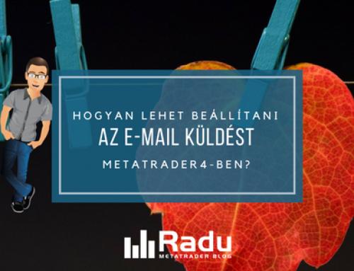 Hogyan lehet beállítani az e-mail küldést MetaTrader4-ben?
