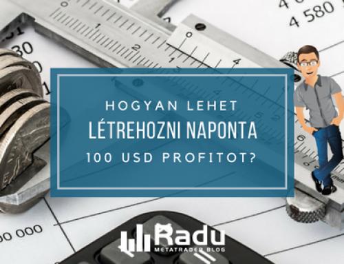 Hogyan lehet rendszeresen napi 100 USD profitot produkálni?