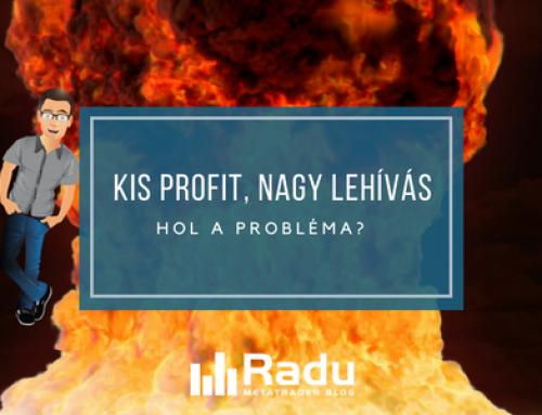 Kis profitok nagy lehívással – hol lesz a probléma?