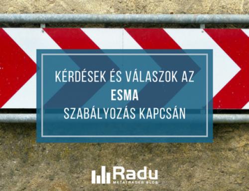 Hogyan érint téged, mint kereskedőt az ESMA szabályozás?