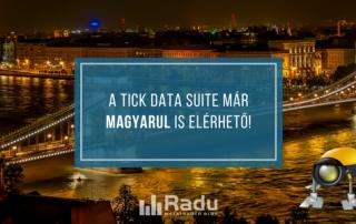 A Tick Data Suite már magyar nyelven is elérhető!