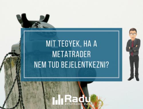 Mit tegyek, ha a MetaTrader4 / MetaTrader5 nem tud bejelentkezni?