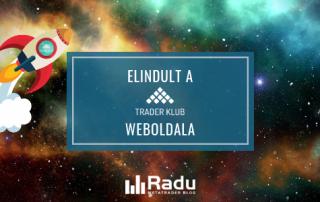 Elindult a Trader Klub weboldala