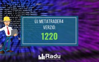 Új 1220-es MT4 build verzió