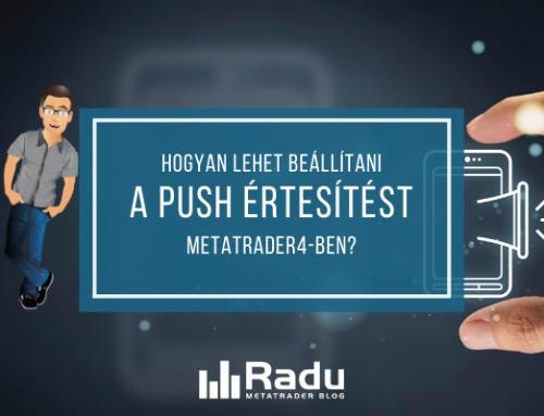 Hogyan lehet beállítani a push (mobilos) értesítést a MetaTrader4-ben?