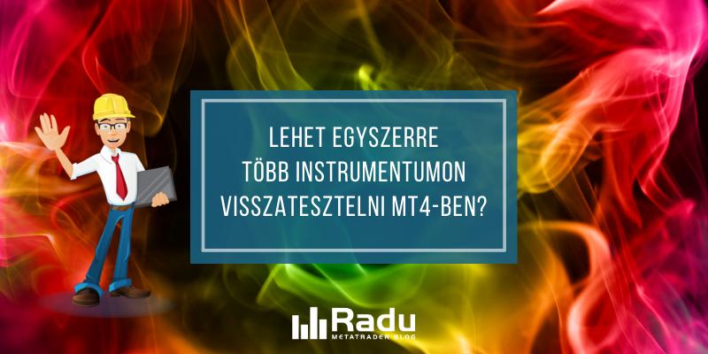 Több instrumentumos visszatesztelés MT4-en